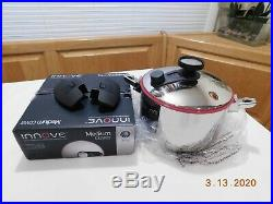 NEW INNOVE Royal Prestige 4 QT STOCK POT Waterless Induction T304 Stainless