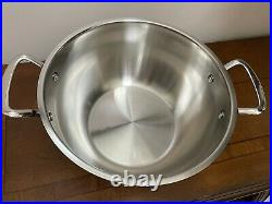 NEW PRINCESS HOUSE Stainless Steel Classic 8Qt. Stockpot