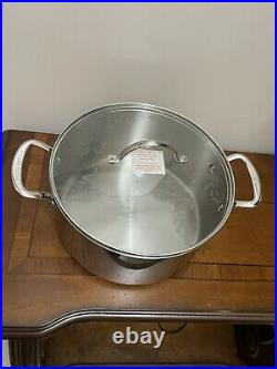 NEW PRINCESS HOUSE Stainless Steel Classic 9QT. Stockpot