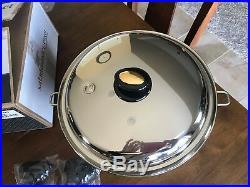 NEW Saladmaster Limited Edition 8.5 QT Gourmet Roaster Stock Pot 316Ti Titanium