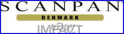 NEW Scanpan Impact 3pc S/Steel Multi Pot Set Stockpot 24cm! (RRP $299)