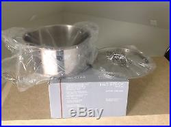 New All Clad copper core 8 Qt. Stock pot with Lid & Stainless Steel Ladle