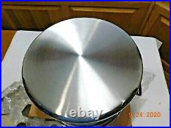 New Amway Queen 8 Qt Stock Pot Dutch Oven Multi Ply 18/8 Stainless Steel