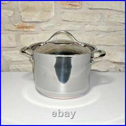 New Anolon 77275 Nouvelle Copper Stainless Steel 6½-quart Covered Stockpot