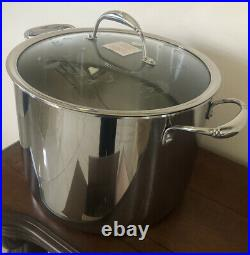 PRINCESS HOUSE Stainless Steel Tri-ply 20 QT Stockpot 5746