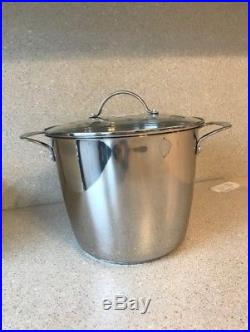 Princess House 9 Qt Stock Pot # 5815 Classic Stainless Steel Heritage New