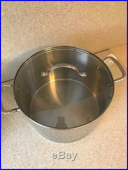 Princess House Heritage Stainless Steel 14 Qt. Dutch Oven, Stock Pot #6796 NEW