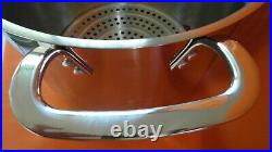 Princess House Stainless Steel Classic 25-Qt Stockpot with Steaming Rack (5840)