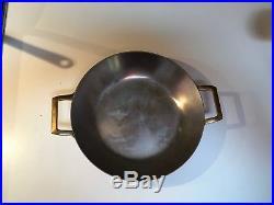 RARE Paul Revere Ware Copper Signature 1801 Wok style pan 10.5
