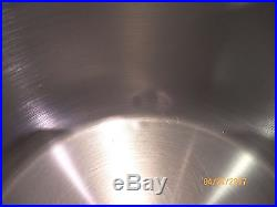 ROYAL PRESTIGE 12 QT Quart STOCK POT T304 9 PLY SURGICAL STAINLESS STEEL