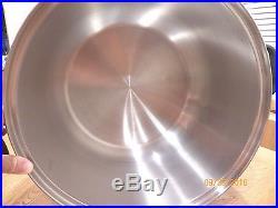 ROYAL PRESTIGE 20 QT Quart STOCK POT T304 9 PLY SURGICAL STAINLESS STEEL