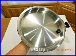 ROYAL PRESTIGE 20 QT Roaster Stock Pot & Lid 7 Ply Titanium Copper Stainless