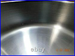 ROYAL PRESTIGE INNOVE 10.5 SKILLET & LID T304 Surgical Stainless Waterless