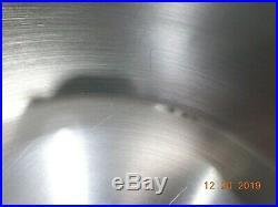 ROYAL PRESTIGE NUTRAEASE 12 QT Stock Pot 316Ti Titanium Stainless Waterless