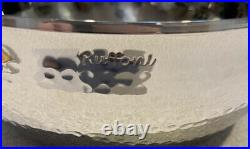 RUFFONI Opus Prima Hammered Stainless Steel Chef Pan with Olive Knob 4-Qt NEW