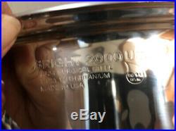 Regal Ware Cookware 16 Qrts Stock Pot Stainless Cookware Titanium Induction USA
