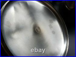 Revere Ware Copper Clad Stainless Steel 16 Qt Stock Pot USA VERY VERY NICE