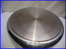 Revere Ware PROLINE Stainless Copper Core 8 Qt Stockpot Dutch Oven Roaster Lid