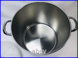 Revere Ware Stainless Steel 12 Qt Disc Bottom Stock Pot with Lid Clinton IL