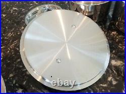 Royal Doulton Gordan Ramsey 10 Piece 18/10 Stainless Steel Cookware Set NICE