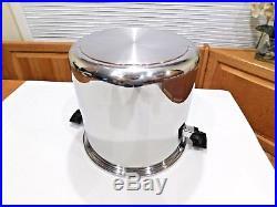 Royal Prestige 20 Qt Roaster Stock Pot T304 7 Ply Titanium Copper Stainless