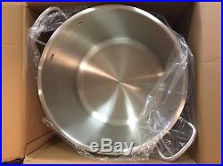 Royal Prestige 63Qt stock pot 18/10 stainless steel and lid