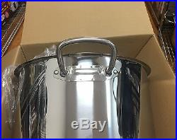Royal Prestige 63Qt stock pot 18/10 stainless steel with lid