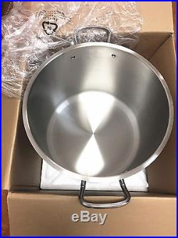 Royal Prestige 63Qt stock pot 18/10 stainless steel with lid BRAND NEW