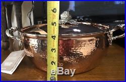 Ruffoni Opus Cupra Hammered Copper 4 Qt