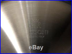 Ruffoni Opus Prima Hammered Stainless Steel Braiser 3.5 Qt