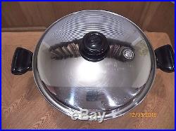 Saladmaster 12 Qt Stock Pot T304s Surgical Stainless Steel & LID USA A+