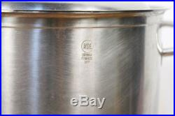 SITRAM FRANCE 24T Deep Stainless Steel Commercial Stockpot 11qt. High Quality