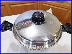 Saladmaster 10 Qt Stock Pot Versa Tec Tp304 Stainless Steel Waterless Cookware
