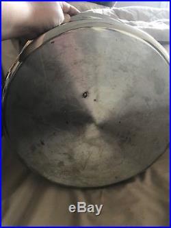 Saladmaster 16 QT Jumbo Stock Pot w Vapo Lid 316Ti Titanium Stainless Steel RARE