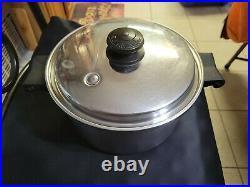 Saladmaster 18/8 Stainless Steel 4 Quart Qt Mini Stock Pot with Lid Dallas TX