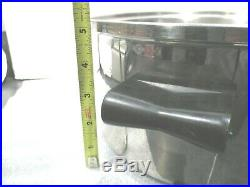 Saladmaster 18-8 Stainless Steel 6-qt. Stock Pot NO LID