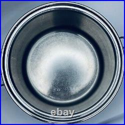 Saladmaster 316Ti 7 Quart Roaster Stock Pot Pan Titanium Stainless Steel USA