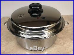 Saladmaster 316Ti Titanium Stainless 5 QT. (4.7 Liter) Stock Pot CLEAN