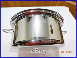 Saladmaster 316 Surgical Stainless 4 Qt Mini Stock Pot & LID Waterless
