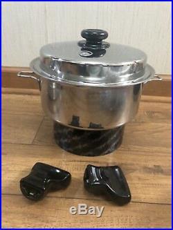Saladmaster 316ti Titanium Stainless 5 Quarts Stock Pot Cookware