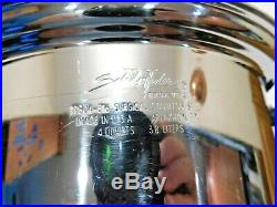 Saladmaster 4 Qt Stock Pot Tp304-316 Surgical Stainless USA Waterless Cookware
