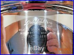 Saladmaster 7 Qt Stock Pot 316l Versa Tec Stainless Steel USA