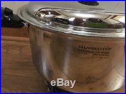 Saladmaster Cookware 7 Stock Pot Waterless Cookware New