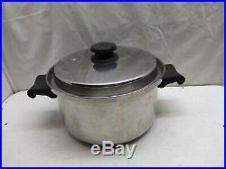 Saladmaster Stainless 4 Qt Bean Soup Stockpot Saucepan Dutch Oven Casserole Lid