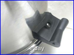 Saladmaster Stainless Steel 6.5 Qt Stock Bean Sauce Pot Dutch Oven & Lid