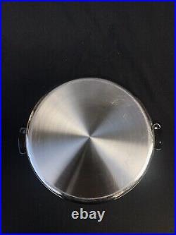 Saladmaster T304S Stainless Steel 10 Quarts Insert Stock Pot Waterless Made USA