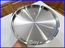 Saladmaster T304s 12 Quart Roaster Stock Pot & Vapo LID 5 Ply Waterless Cookware