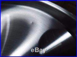 Saladmaster T304s 8 Qt Roaster Stock Pot & Steamer 5 Ply Waterless Cookware