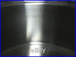 Saladmaster Versa Tec 16 Qt Jumbo Stock Pot Roaster With Vapo LID
