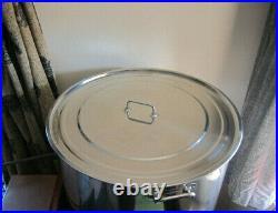 Stainless steel large stock pot tank vessel 170 LT